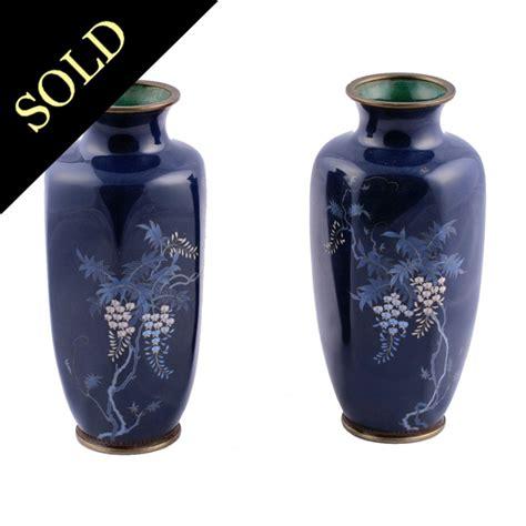 antique cloisonne vases japanese cloisonne vases