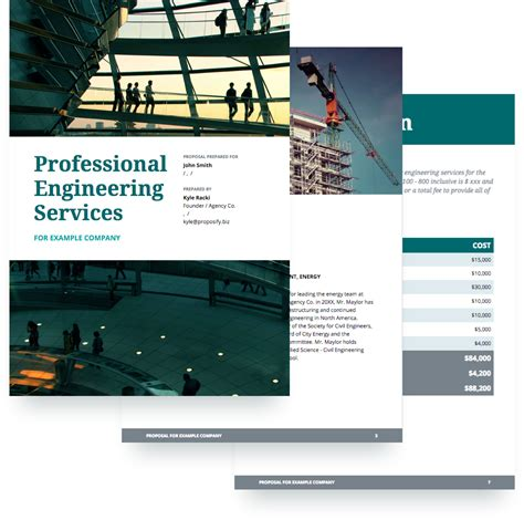 rfp for architectural services template engineering template free sle