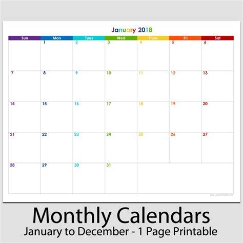 2018 12 Month Calendar 2018 12 Month Landscape Calendar 8 1 2 Quot X 11 Quot Legacy