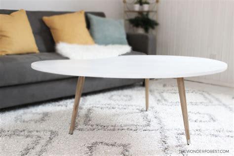 diy mid century table diy mid century modern coffee table 50
