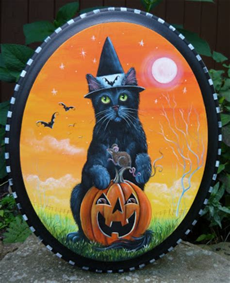 the black cat knocks on wood a bad luck cat mystery book 2 books artists black cat magic painting on wood