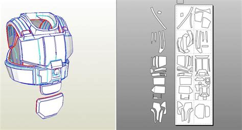 Yay Another Odst Build Well At Least It Will Be Halo 4 S Version Halo Foam Templates