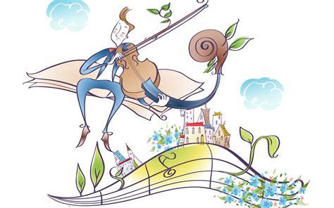 imagenes musicales animadas vector cartoon music 3 1440x900 wallpaper download