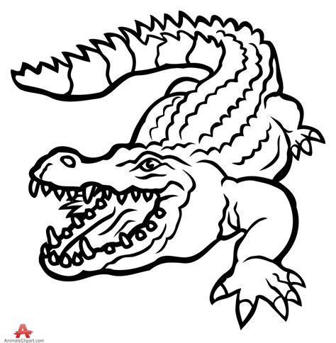 logo black and white crocodile clipart alligator www pixshark images