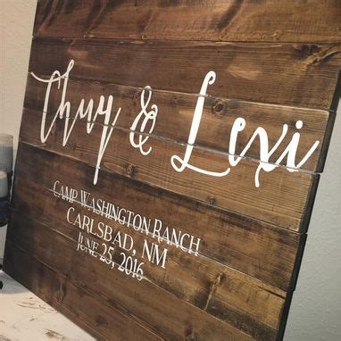 hand   wedding guest book wood sign alternative book  heart couples