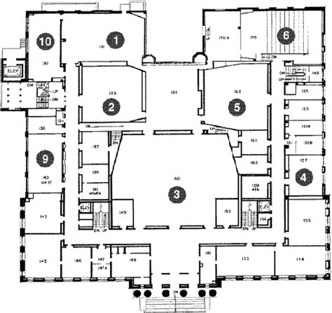laboratory floor plans tate lab of physics