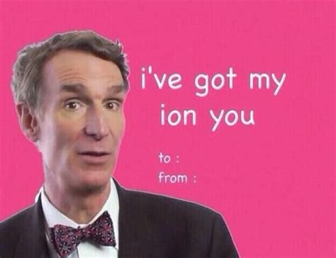 Valentine Meme Cards - bill nye valentine ecard literally lol pinterest