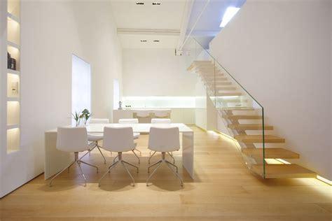 Interior Stairs Design In Duplex Apartments Como Loft Residence By Jm Architecture Ultra Modern Loft