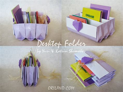Origami Useful Items - free coloring pages desktop folder origami fancy