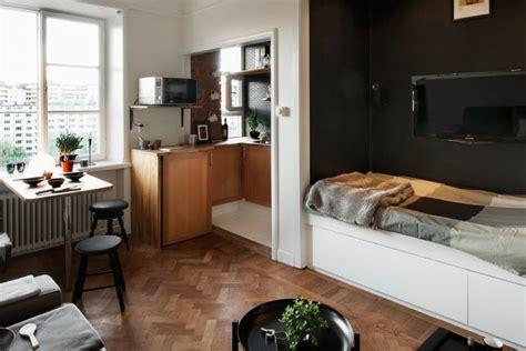Kleines Appartment Einrichten by 140 Bilder Einzimmerwohnung Einrichten Archzine Net