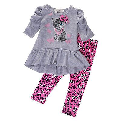 Cat Set T Shirt And Dress aliexpress buy 2016 autumn baby cat printed t shirt tops dress leopard
