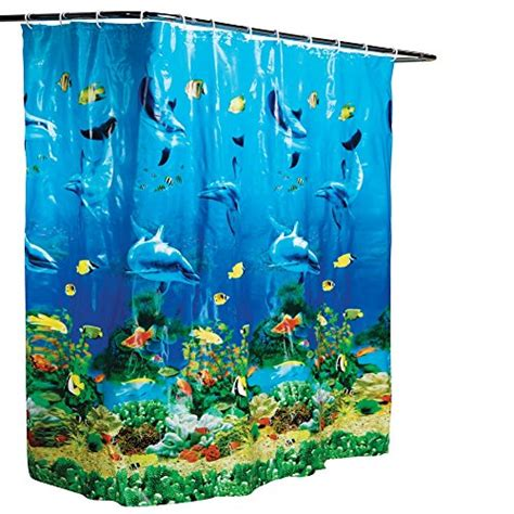 under the sea curtains dolphin shower curtains kritters in the mailbox animal gifts