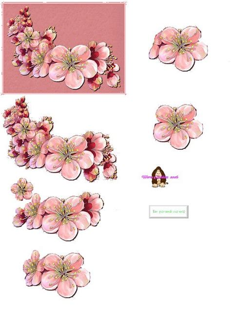 free printable decoupage flowers 63 best images about decoupage sheets of flowers on
