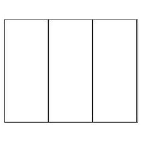 Blank Brochure Template With Rubric Great For Cross Curricular Projects Templates Avery 8324 Tri Fold Brochures Templates