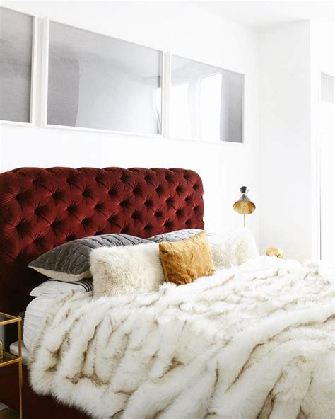 red headboard best 25 velvet headboard ideas on pinterest velvet