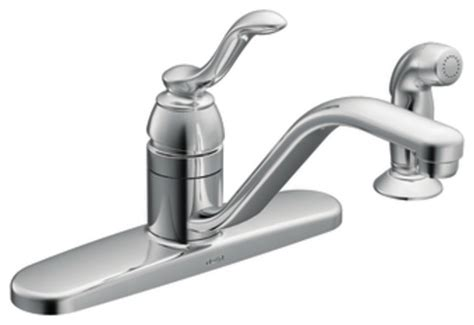 Moen Banbury Kitchen Faucet by Moen 87528 Banbury Single Handle Kitchen Faucet With