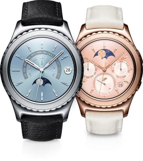 Samsung Gear S2 New samsung launches gear s2 smartwatches along with new gear