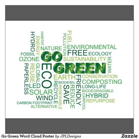 pics for gt go green posters ideas