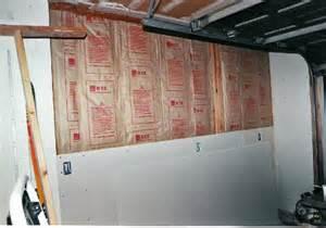 image gallery insulating garage walls