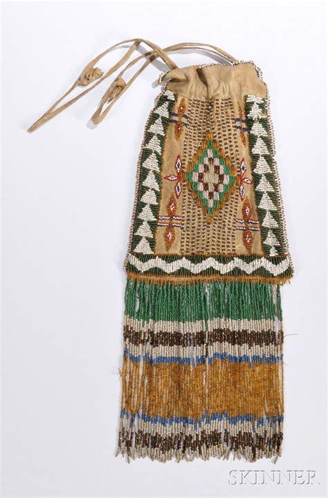 beadwork bag beautiful colors on this apache beaded bag c 1900