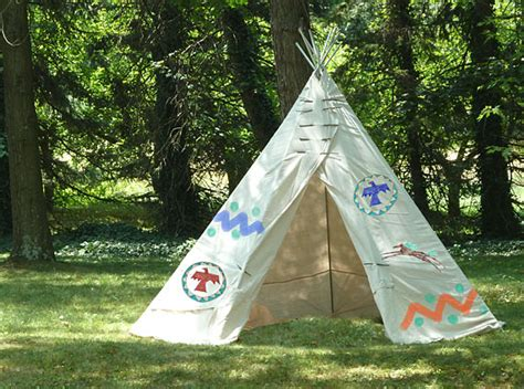 Backyard Teepee Tent by How Tuesday Backyard Teepee Etsy Journal