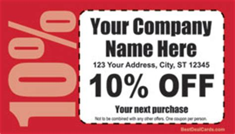 10 Percent Coupon Template How To Reward Your Customers With A Loyalty Program