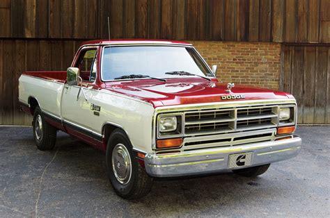 dodge cummins truck 1985 dodge ram cummins d001 development truck