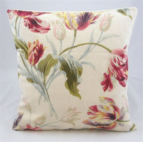 Handmade Cushion Cover - cushion cover handmade in uk gosford floral
