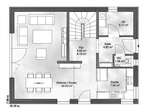 1 schlafzimmer haus grundrisse einfamilienhaus