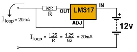 constant current diode 20ma 100 ic circuits