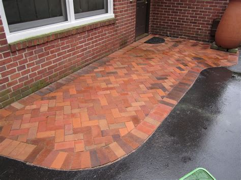 How To Clean Paver Patio Brick Pavers Canton Plymouth Northville Arbor Patio Patios Repair Sealing
