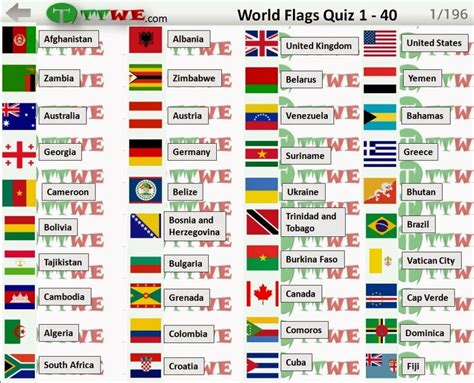flags of the world game printable 1 to 40 flag quiz game answers logo quiz