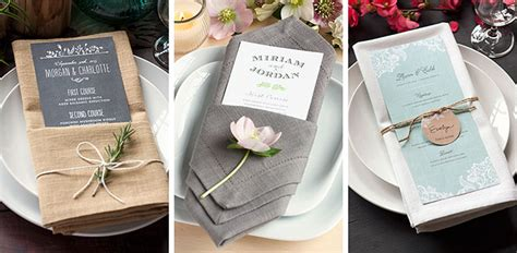 Wedding Napkin Folds by Table Setting Tips 3 Menu Napkin Folds Evermine Occasions