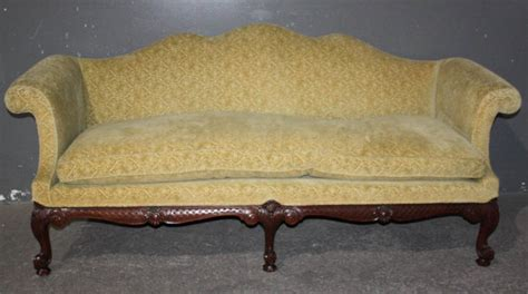 antique sofa for sale 1960 s american classic mohair sofa settee mahogany for