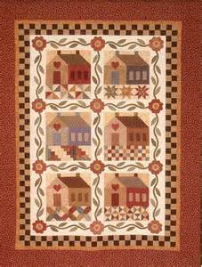 patchwork cottage quilts