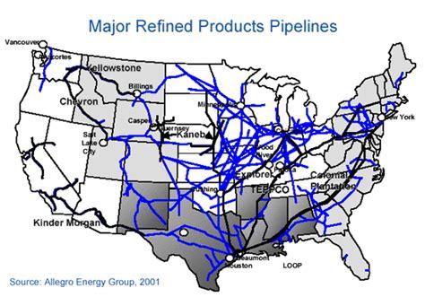 map us pipelines easy being greener pipelines across america