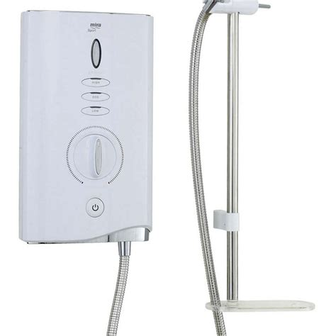 Mira Showers Helpline by Mira Sport Max Electric Shower With Airboost Uk Bathrooms