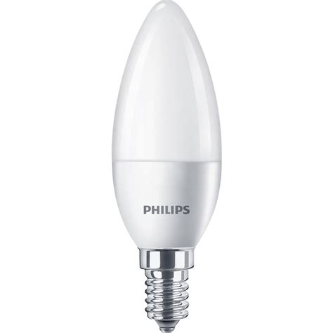 candele led philips philips led frosted candle l 4w ses e14 250lm