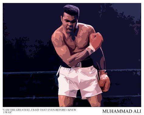 Kaos Muhamad Ali 3 ask the boxer home