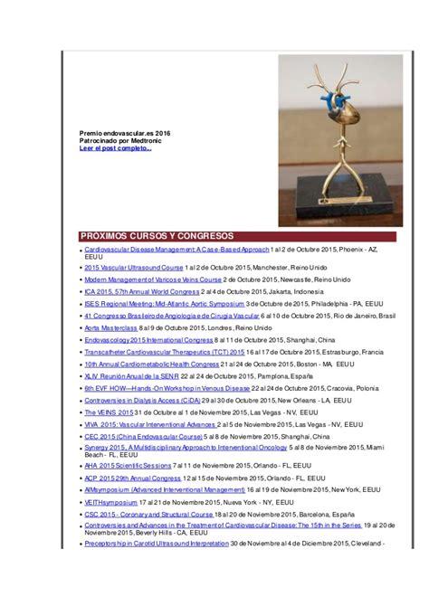 ises congreso 2015 endovascular x