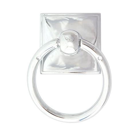 polished chrome cabinet ring pulls alno creations shop a580 pc ring pull polished chrome