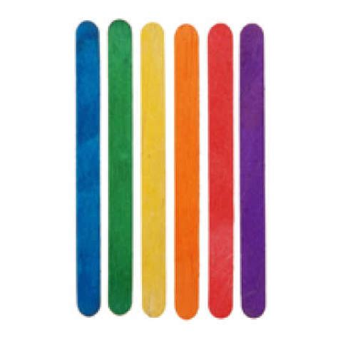 colored popsicle sticks how
