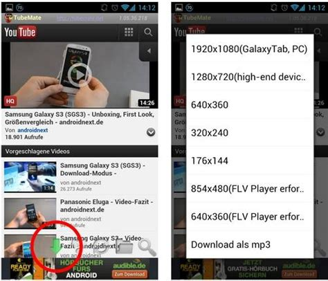 download youtube gingerbread tubemate for android hit2k download software free