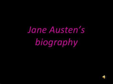 jane austen biography presentation jane austen s biography