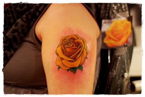 orange rose tattoo 30 tattoos that will beautify your