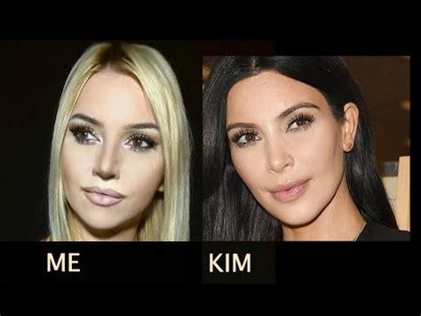 youtube tutorial kim kardashian kim kardashian makeup tutorial youtube