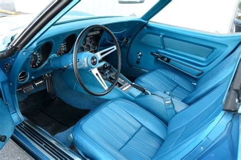 1969 corvette interior 1969 corvette coupe with low and family history