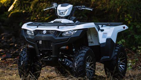2019 Suzuki King by 2019 Suzuki Kingquad Lineup Preview Atv