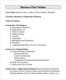 business outline template outline templates 20 free free word pdf