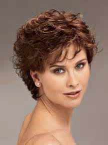 haircut sqare wavy hair 60 20 short hair for women over 40 short hairstyles 2016